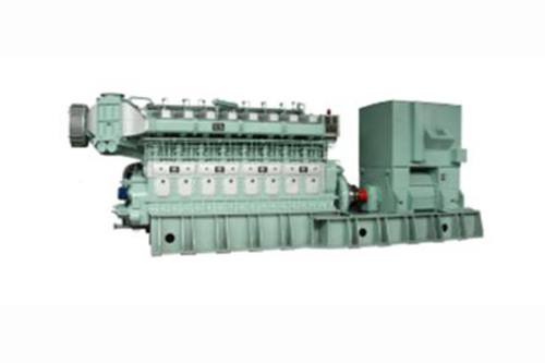 Heavy oil generator set