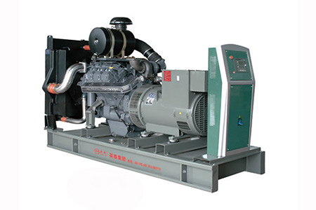 How to find the oil leakage point in the diesel generator set pipeline